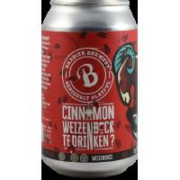 Cinnamon Weizenbock Te Drinken?