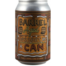 Barrel Aged Dessert In A Can - Tonka & Caramel Swirl Ice-Cream