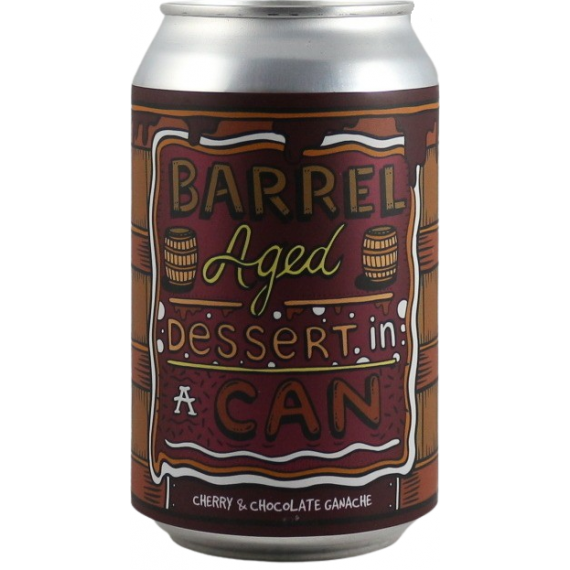 Barrel Aged Dessert In A Can - Cherry & Chocolate Ganache