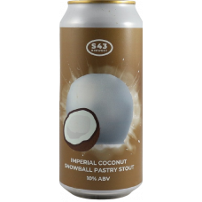 Imperial Coconut Snowball Pastry Stout