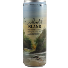 Enchanted Island (v2) Passion Fruit, Orange, Cranberry, Lime, Pomegranate Simple Syrup, Coconut