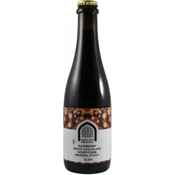 Raspberry White Chocolate Honeycomb Imperial Stout
